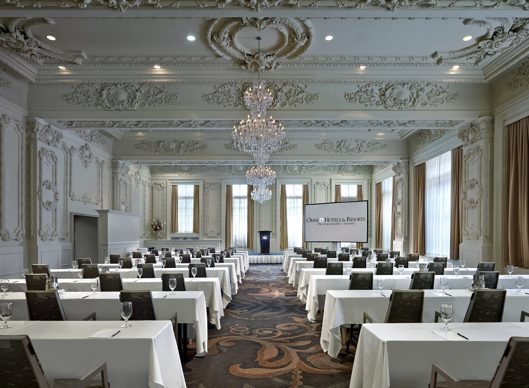 Sovereign Ballroom/Omni King Edward Hotel